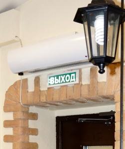 Электрическая тепловая завеса Тепломаш КЭВ-18П3042Е Оптима 300