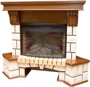 Готовый комплект RealFlame Stone Corner NEW 25 с очагом Firespace 25 S IR
