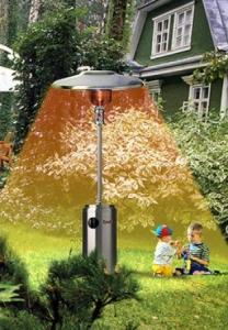 Инфракрасный обогреватель газовый Kroll W12VA (уличный)