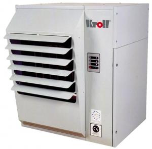 Калорифер настенный с атмосферной горелкой Kroll N 44