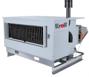 Калорифер с атмосферной горелкой Kroll NKA 112 (для наружной установки)