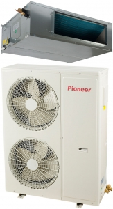 Канальная сплит-система Pioneer KFD48UW / KON48UW