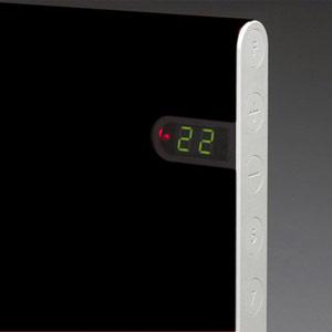 Конвектор ADAX NL 06 KDT Black с электронным термостатом