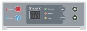 Конвектор с электронным термостатом Timberk TEC.PS1 LE 2000 IN
