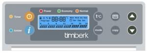 Конвектор с электронным термостатом Timberk TEC.PS1 PGE 2500 IN