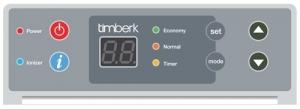 Конвектор с электронным термостатом Timberk TEC.PS1 RCE 1000 IN