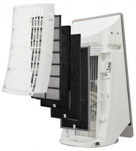 Очиститель воздуха с увлажнением Panasonic F-VK655