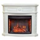 Портал RealFlame Montana 33 белый для электрокаминов Leeds 33SDW/DDW, Fireplace 33
