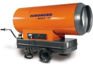 Тепловая пушка дизельная Euronord прямого нагрева Mizar 105