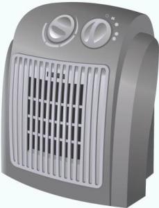 Тепловентилятор напольный керамический Roda RK1220SM1.5
