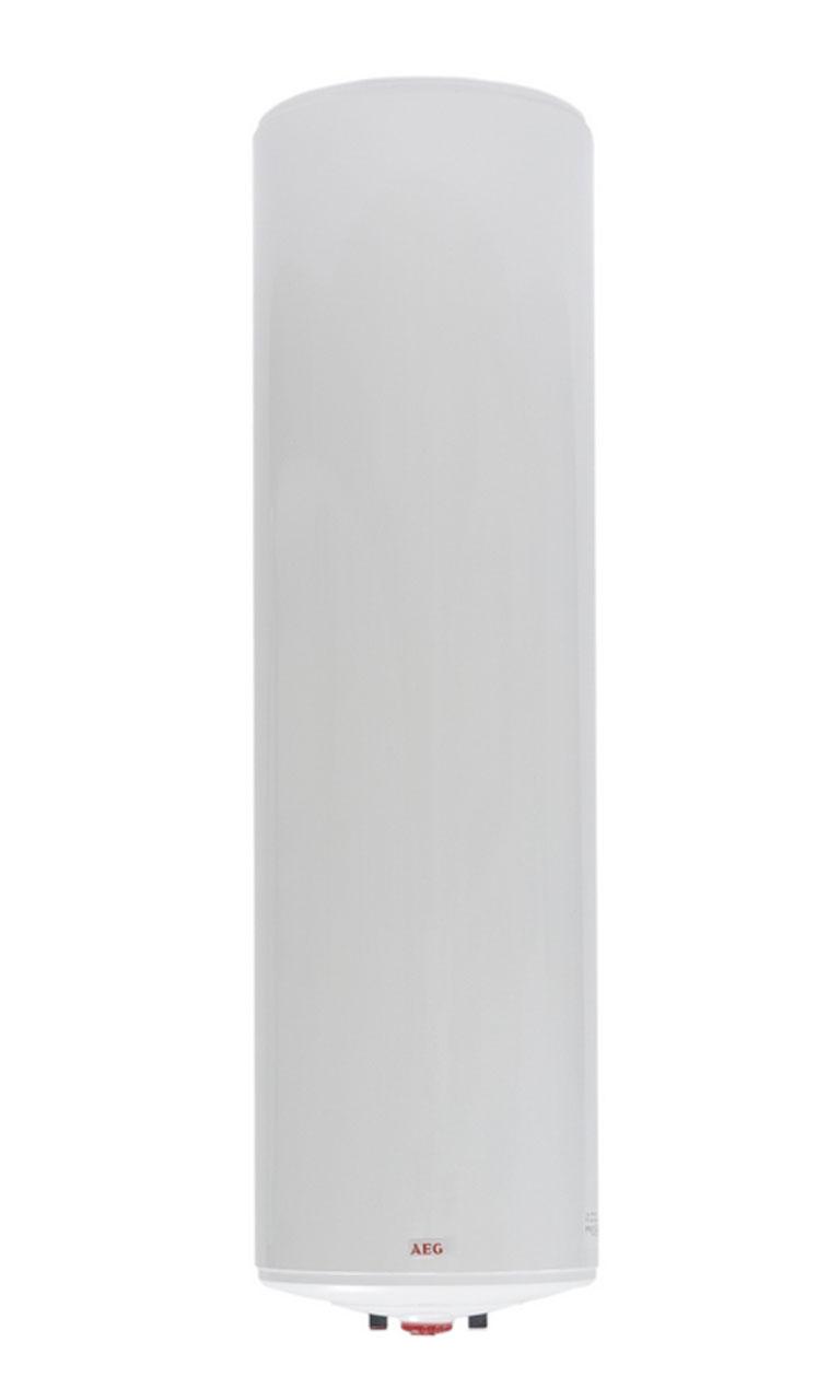 Общий вид электрического накопительного водонагревателя AEG EWH 75 Slim