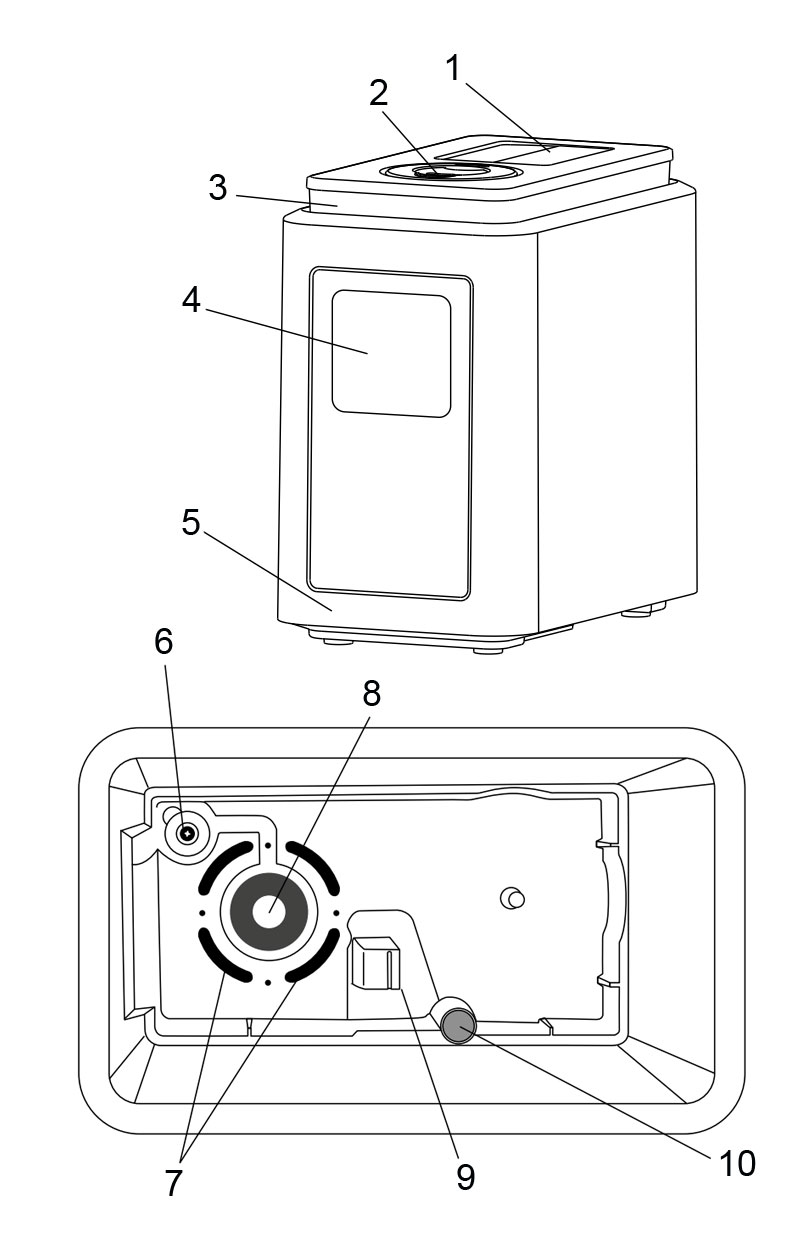 Устройство увлажнителя воздуха Electrolux EHU-1020D