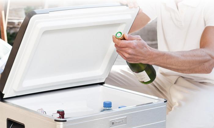 Абсорбционный автохолодильник на электричестве и газе
