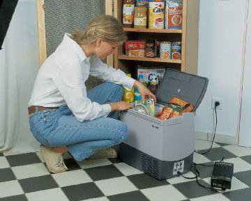 Автохолодильник Waeco CDF 18 от прикуривателя и сети 220 В