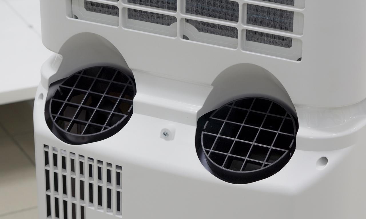 Мобильный кондиционер Electrolux EACM два воздуховода