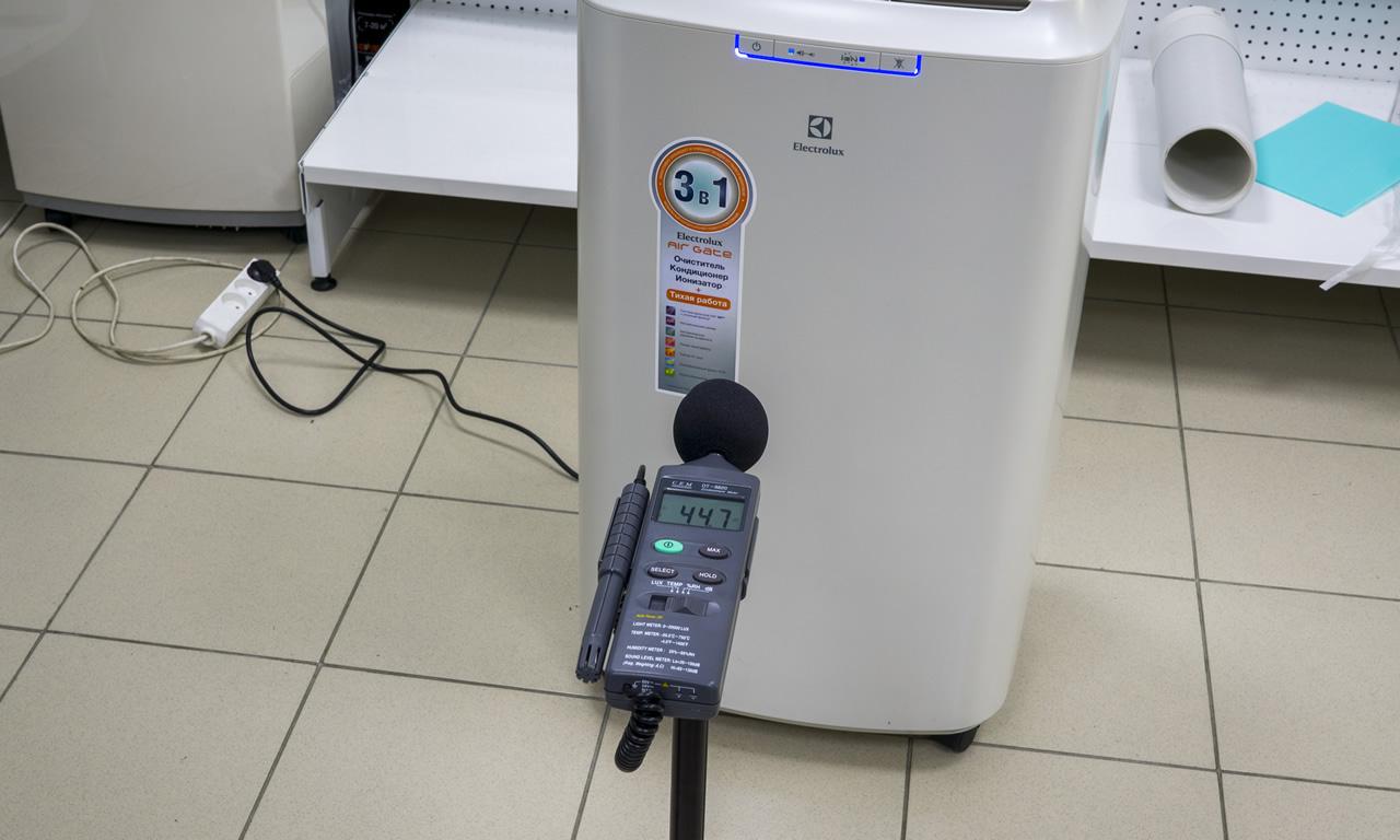 Мобильный кондиционер Electrolux EACM в режиме пониженного шума