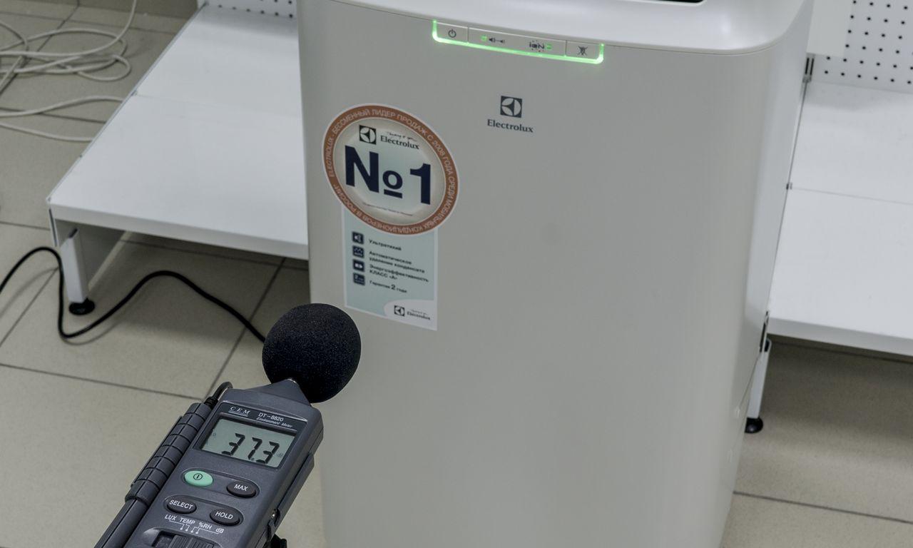 Мобильный кондиционер Electrolux EACM шум в режиме вентиляции