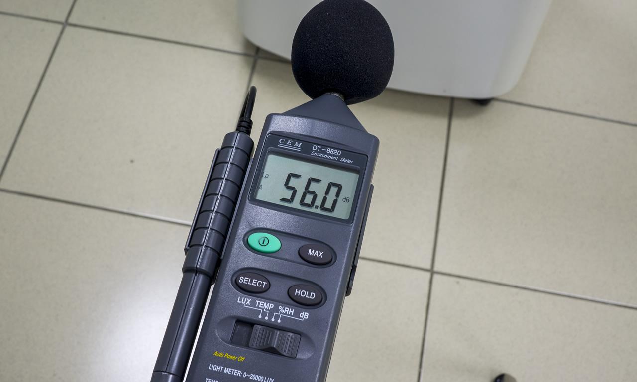 Мобильный кондиционер Electrolux EACM уровень шума при полной мощности