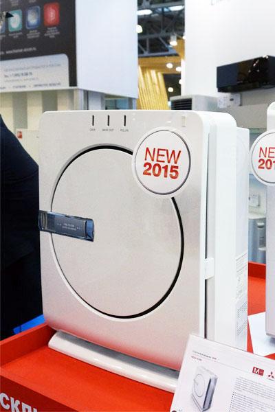 Новинка 2015: очиститель воздуха Mitsubishi FRESH HOME MA-E83H-R1 уже в продаже!