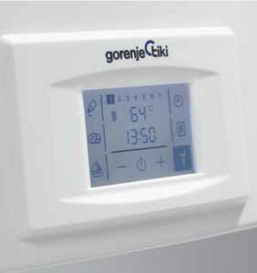 Панель управления водонагревателя Gorenje OGB Smart