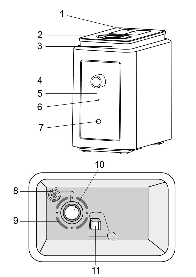 Устройство увлажнителя воздуха Electrolux EHU-1010